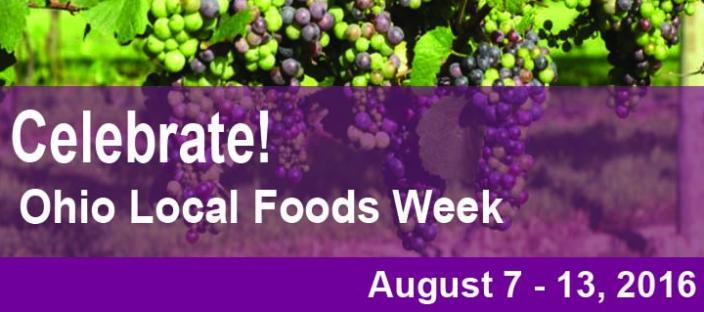 Celebrate Ohio Local Foods Week