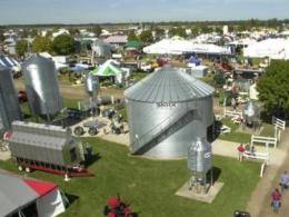 Aerial photo of Farm Science Review grounds