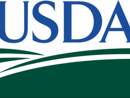 A photo of the U S D A Logo